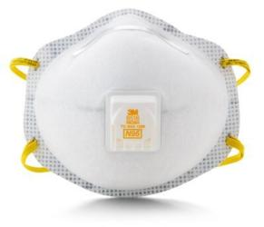 3M™ Particulate Respirator 8516, N95, with Nuisance Level* Acid Gas Relief