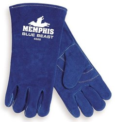 Blue Beast® Leather Welders Gloves